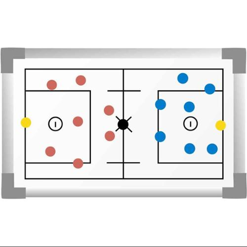 Lacrosse Magnetic Board in White