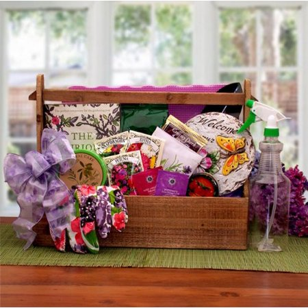 Garden Gift Basket -Mother's Day, Birthday, or Holiday Gift Idea for Her](Homemade Halloween Gift Basket Ideas)