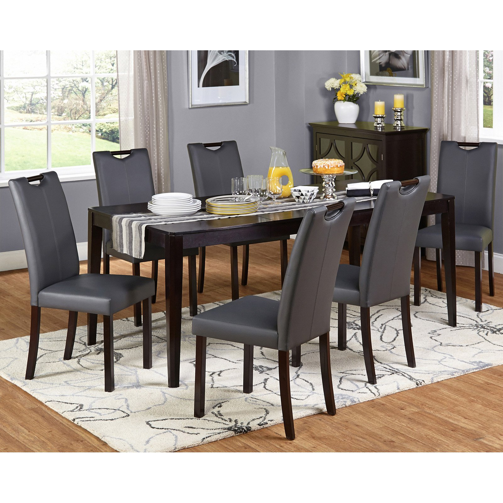 Target Marketing Systems Tilo 7 Piece Dining Table Set