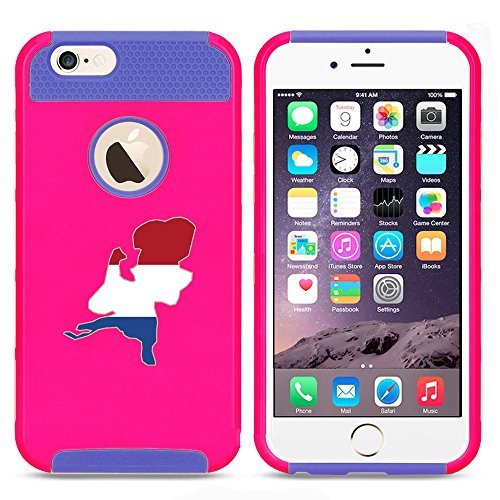 Apple iPhone 6 Plus   6s Plus Shockproof Impact Hard Case Cover Netherlands...