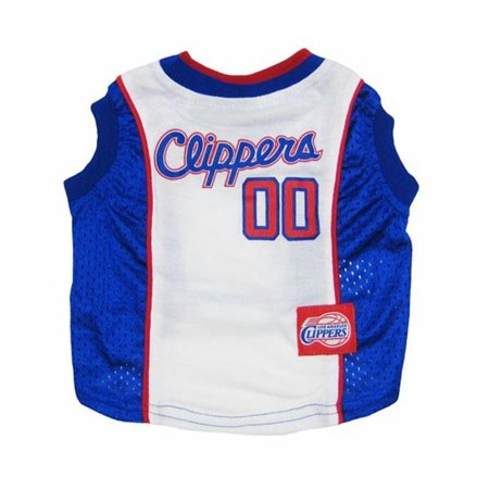 Los Angeles Clippers Dog Jersey - X-Small