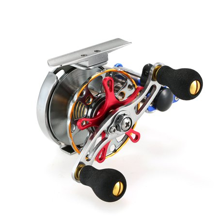 Mini Ultralight Fly Reel Right Handed Fly Fishing Reel CNC Machined Aluminum Metal Reel Ratio Fishing Wheel Reel Spool Tackle