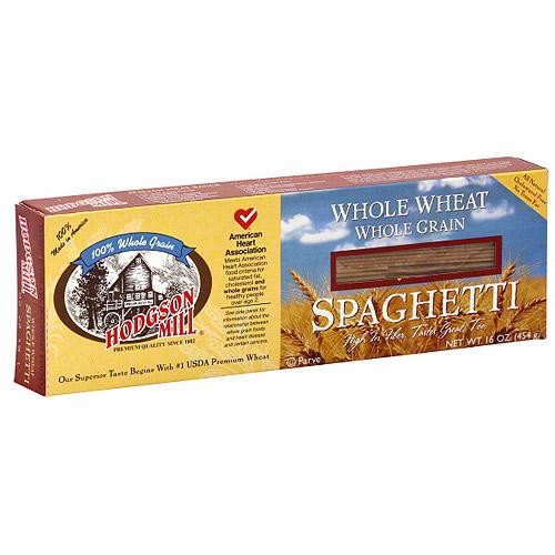 Hodgson Mill Whole Wheat Spaghetti, 16 oz (Pack of 12)