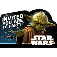 Star Wars 'Classic' Invitation Set w/ Envelopes (8ct)