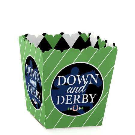 Kentucky Horse Derby - Party Mini Favor Boxes - Horse Race Party or Birthday Party Treat Candy Boxes - Set of 12](Kentucky Derby Centerpieces)