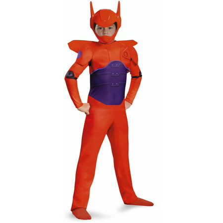 Big Mouth Halloween Costume (Big Hero 6 Baymax Classic Child Halloween)