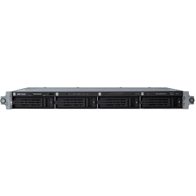 BUFFALO TeraStation 5400 4-Drive 24 TB Rackmount NAS for Small Medium Business SMB [TS5400RN2404] by Buffalo Americas