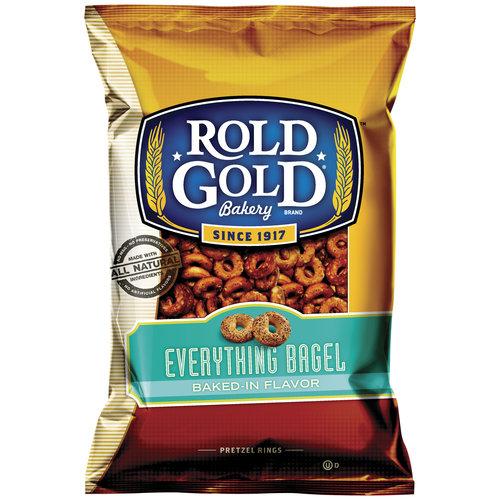 Rold Gold Everything Bagel Pretzel Rings, 10 oz