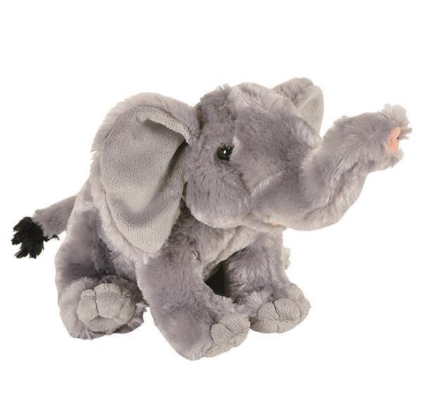 """8"""" ANIMAL DEN ELEPHANT PLUSH, Case of 12"""
