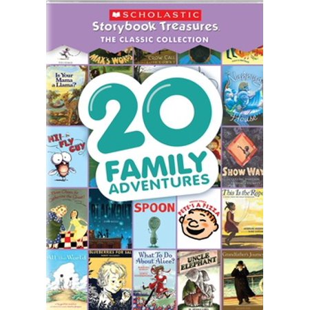 20 Family Adventures: Scholastic Storybook Treasures Classic Collection (DVD)