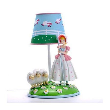 DisneyPixar Bo Peep Table Lamp with Sheep- Toy Story 4