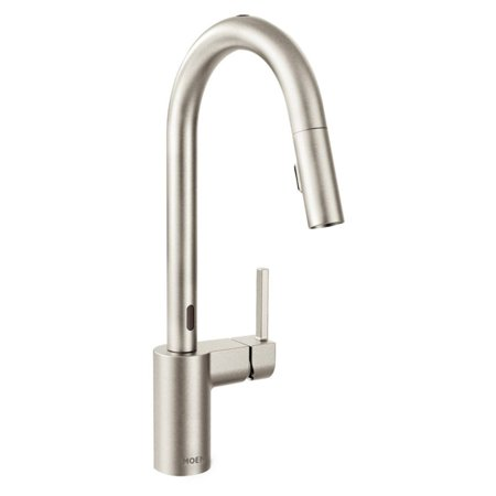 Moen Align Spot Resist Stainless One-Handle High Arc Pulldown Kitchen Faucet