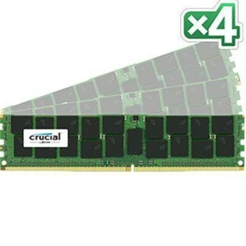 Crucial 128gb Ddr4 Sdram Memory Module - 128 Gb [4 X 32 Gb] - Ddr4 Sdram - 2133 Mhz Ddr4-2133/pc4-17000 - 1.20 V - Ecc - Registered - 288-pin - Dimm (ct4k32g4rfd4213)