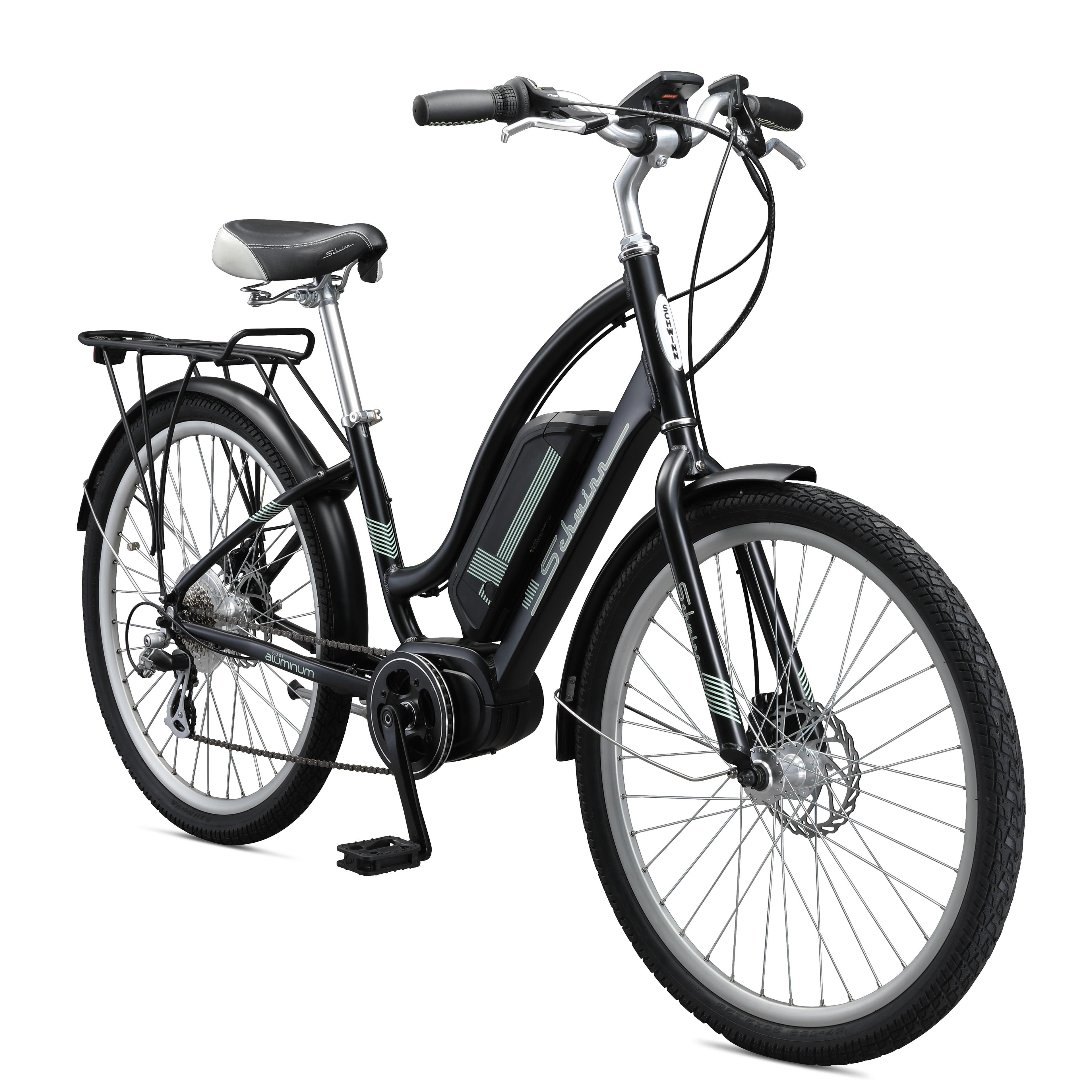 Schwinn Constance 250 watt mid drive cruiser electric bicycle, 7 speeds, Mens/Womens, one size