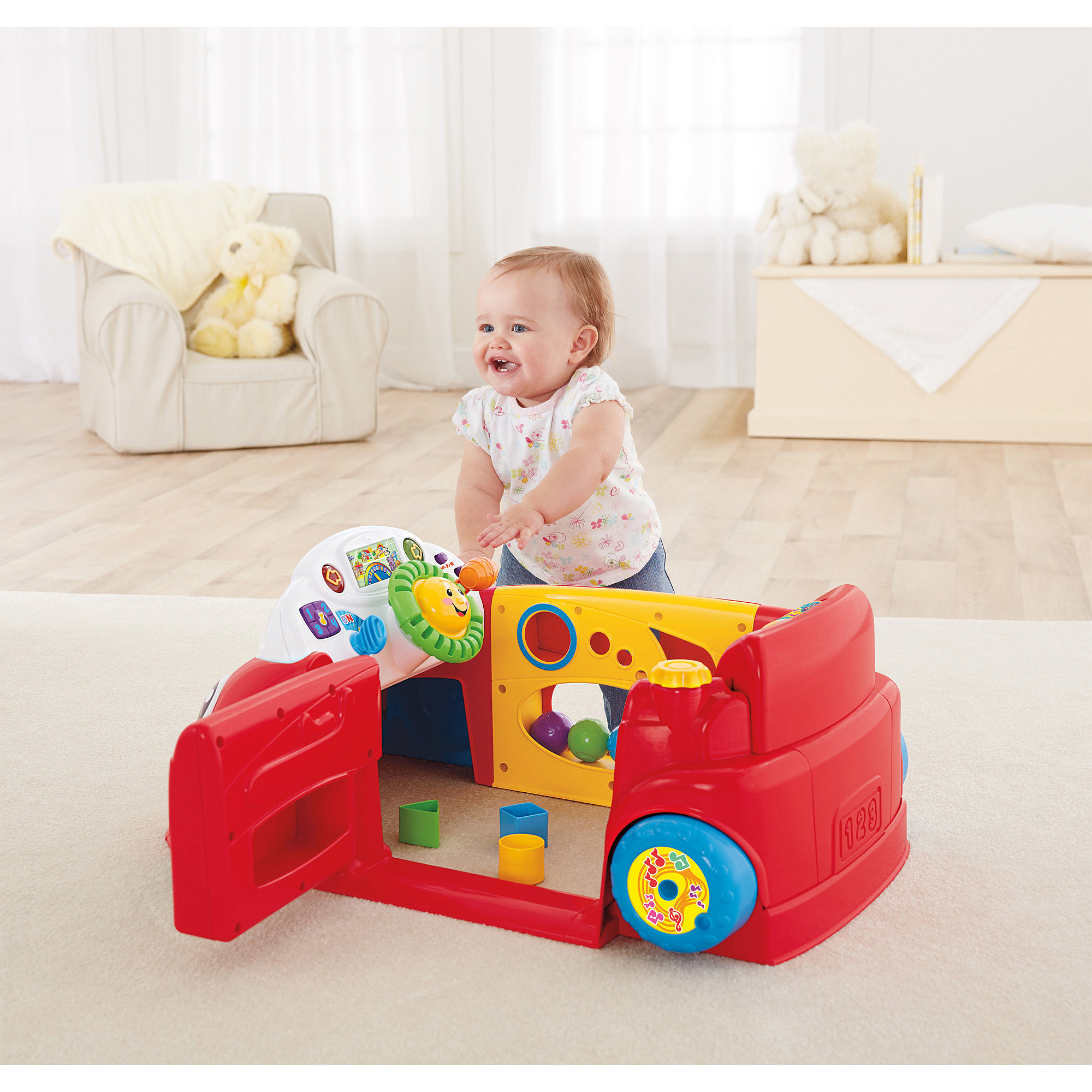 Fisher Price Laugh & Learn Smart Stages Crawl Around Car Walmart