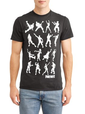 Fortnite Men's and Big Men's Dance Dance Graphic T-Shirt