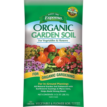 Espoma Company-Soils-Organic Garden Soil For Vegetables And Flowers 1 Cubic