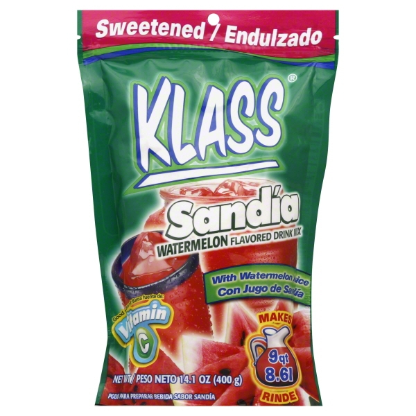 Klass Time Klass  Flavored Drink Mix, 14.1 oz