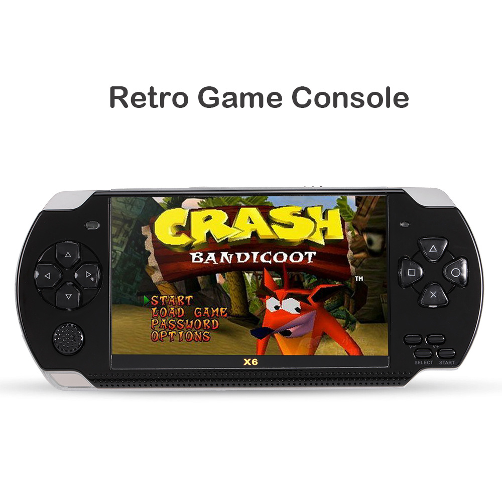 Green Classic Hand-held Game Console Pre-Loaded 246 Retro Games with Color Screen