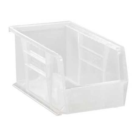 High Capacity Box (Quantum Storage Systems 30 lb Capacity, Hang and Stack Bin, Clear)