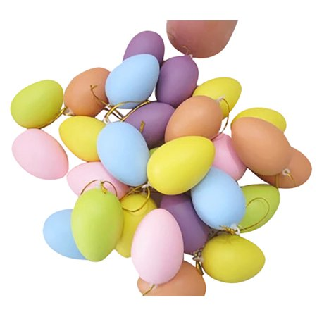 12pcs Kids Children DIY Painting Egg Toy With Rope Gifts Plastic Hanging Easter - Diy Resurrection Eggs