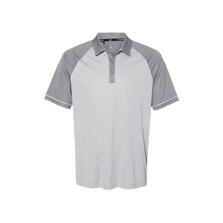 Adidas Climacool Jacquard Raglan Polo L Grey Two/ Grey Three