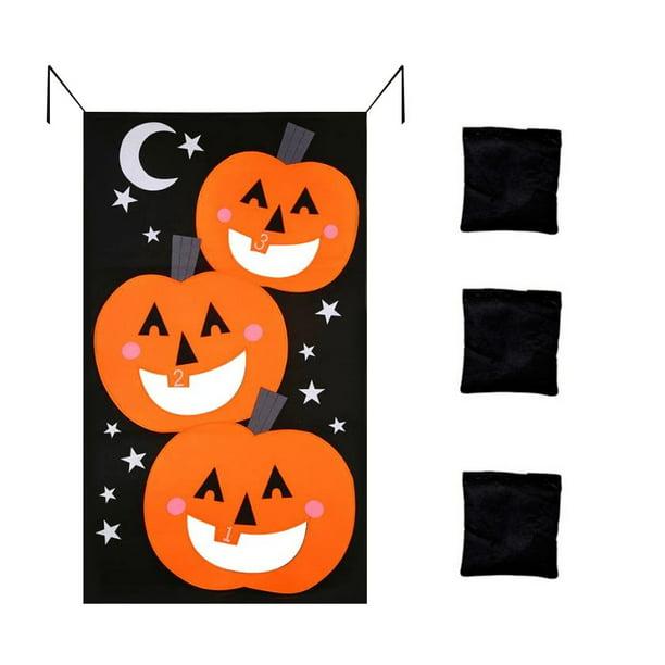 Hanging Type Kids Toy Halloween Decoration DIY Portable Craft Felt Pumpkin Party
