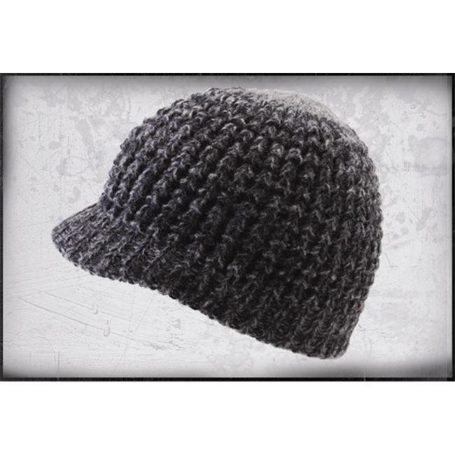 f2ea47957a7 Icebox Dohm 887-4 Super Soft Visor Winter Hat - Coal