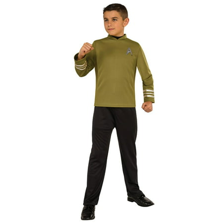 Star Trek Boys Beyond: Captain Kirk Classic Child Halloween Costume Captain Kirk Uniform
