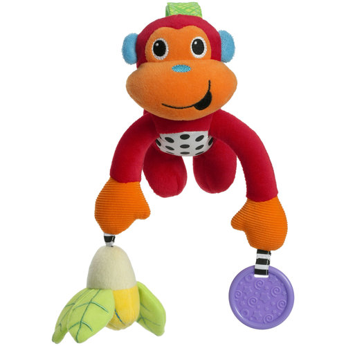 Infantino Pull and Play Monkey