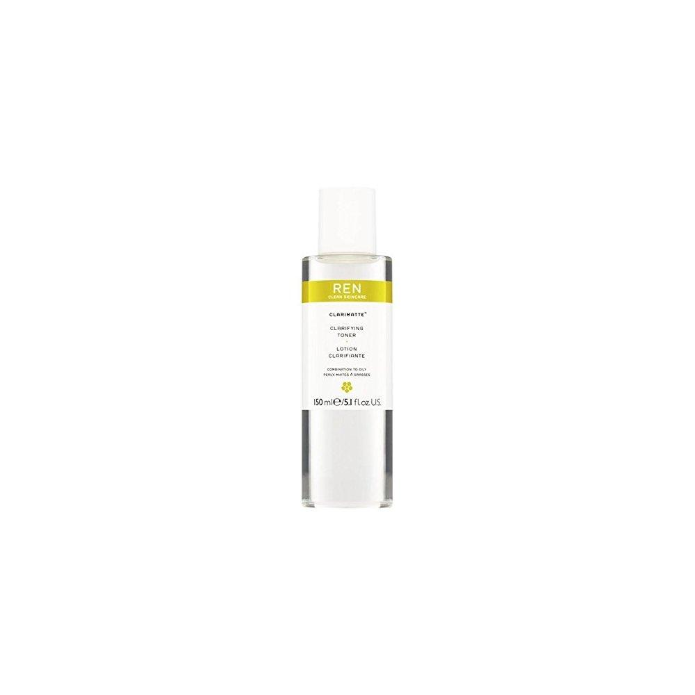 ren clarimatte clarifying facial toner 150ml (pack of 6) Overnight Renewal Charcoal Cleanser Gel - 7 fl. oz. by Mineral Fusion (pack of 4)