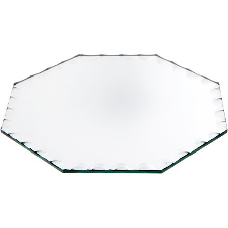 Spanish Scalloped Glass (Beveled Glass Mirror, Scalloped Octagonal 3mm - 6