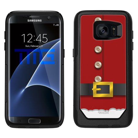 SKIN DECAL FOR OtterBox Commuter Samsung Galaxy S7 Edge Case - Red Santa Suit DECAL, NOT A CASE for $<!---->