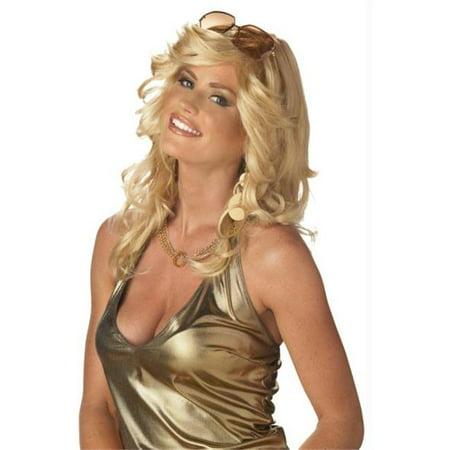 Morris Costumes CC70277BD Mama Discorama Blonde Wig
