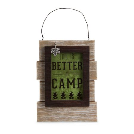 People Hanging (Pavilion Gift Company We People 67269 Camping People Self Standing or Hanging Plaque)