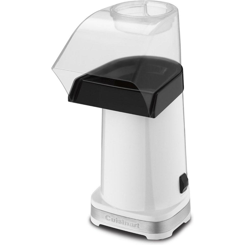 Cuisinart CPM-100W EasyPop Hot Air Popcorn Maker, White(Certified Refurbished) by Cuisinart