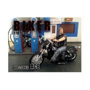American Diorama 23865 Biker Ace Figure for 1-18 Scale Models