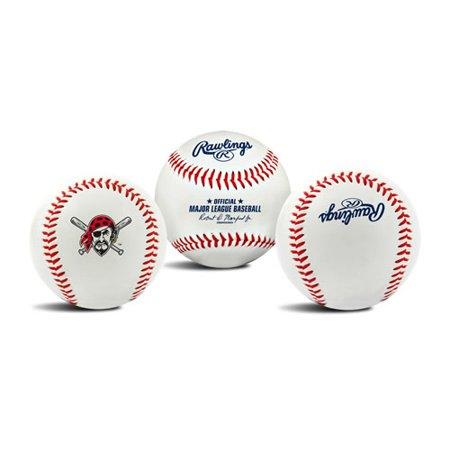- Rawlings Pittsburgh Pirates The Original Team Logo Collectible Baseball - No Size