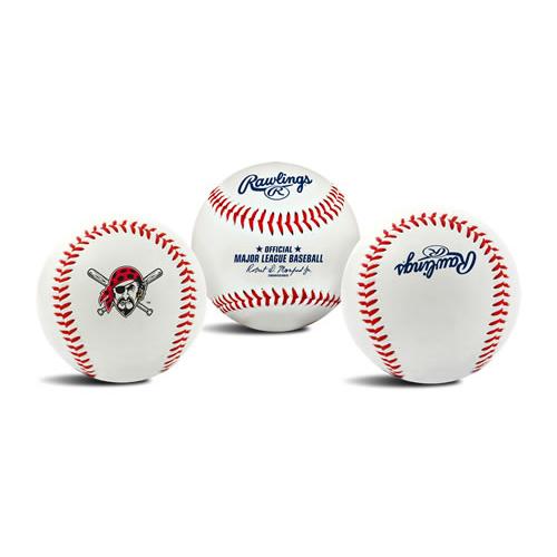Rawlings Pittsburgh Pirates The Original Team Logo Collectible Baseball - No Size
