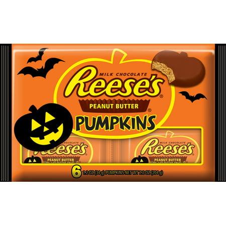 Reese's Halloween Peanut Butter Pumpkins 7.2 oz