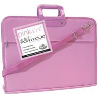 """Pink Art Artist Portfolio Case, 14""""x18"""""""