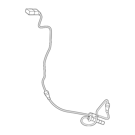 Mercedes Benz Reference Sensor - Genuine OE Mercedes-Benz ABS Sensor 205-905-45-07