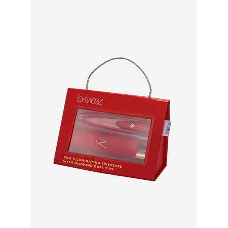 Illuminating Pure Diamond - LaTweez - Red Illuminating tweezer + Diamond dust