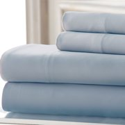 Amrapur Overseas Inc. 4 Piece 220 Thread Count Rayon Rich Sheet Set