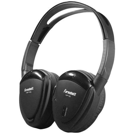 Power Acoustik HP-11S 1-Channel Wireless IR Headphones
