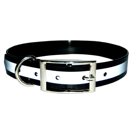 New Reflective Dark Dog Collar, Strong TPU Safety Collar, Suitable for Dogs or Cats, By Downtown Pet -