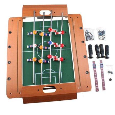 "AGPtek 20"" Mini Table Top Foosball Table Game Set Miniature Foosball Table Tabletop Soccer 50*35*10cm"