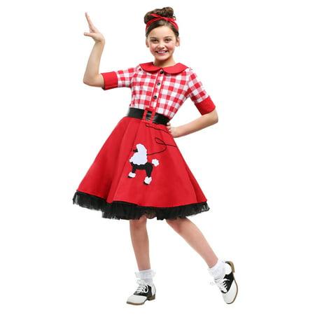 50s Darling Girls Costume (50s Girl Costume Diy)