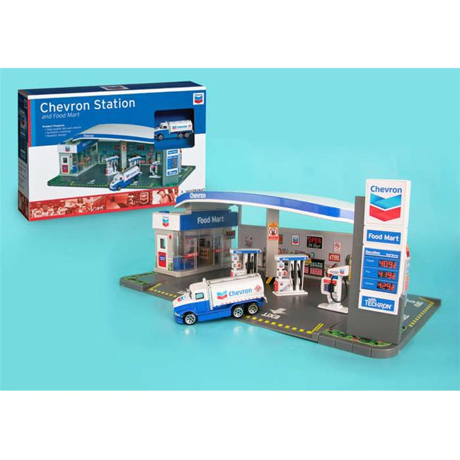 Chevron RT187215 Real Toys Gas Service Station & Food Mart Toy