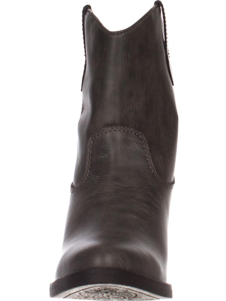 Womens madden - girl Ramz Western Boots - madden Gray d341d5